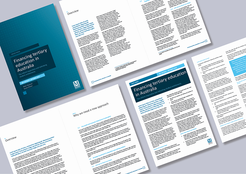 Research Institute Report and Newsletter Word Templates