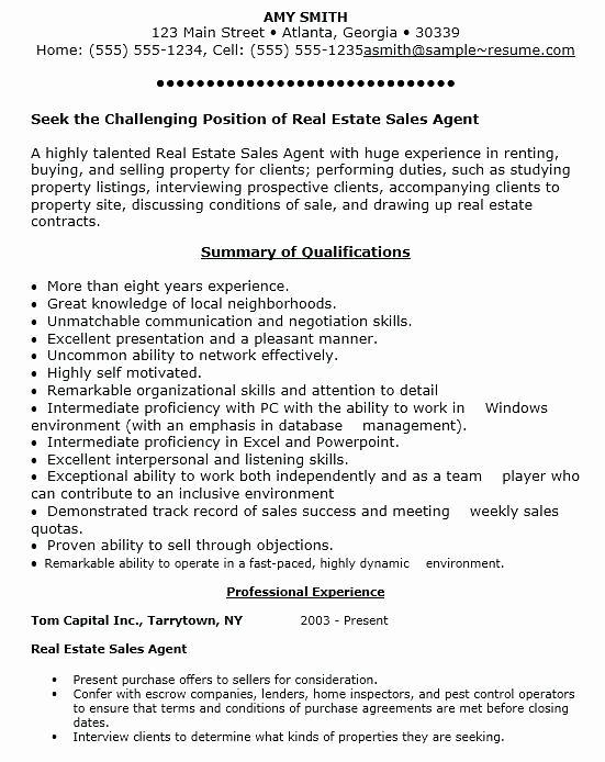 Residential Appraiser Sample Resume