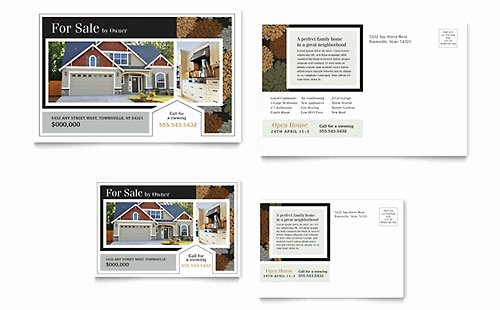 Residential Real Estate Postcards