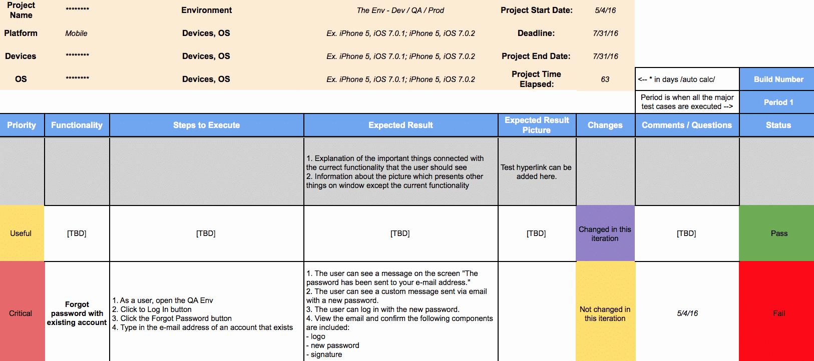 [resource Share] software Test Plan Template