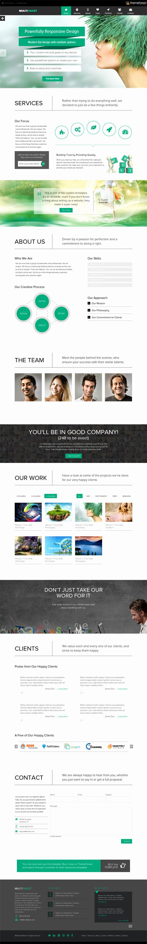 Responsive E Page Templates Permium Collection