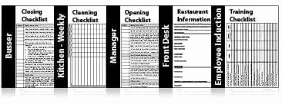 Restaurant Checklist Templates Free Find Word Templates