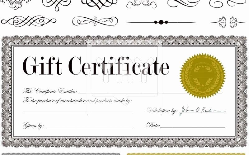 Restaurant Gift Certificate Template Lovely 11 Free Gift