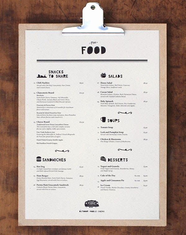 Restaurant Menu Design Inspiration … Menu Design