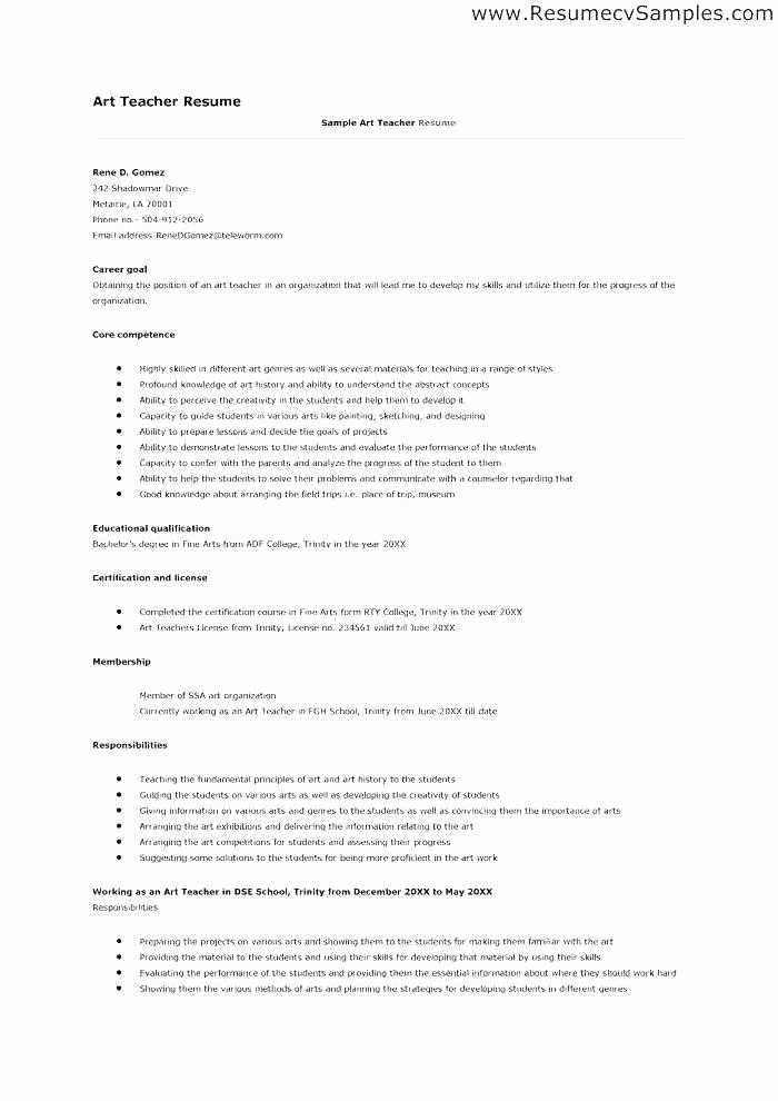 Resume and Job Application Letter Pdf for A Template