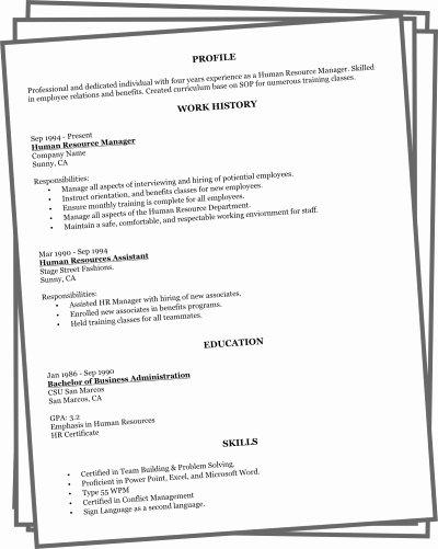 Resume Builder Line 2017
