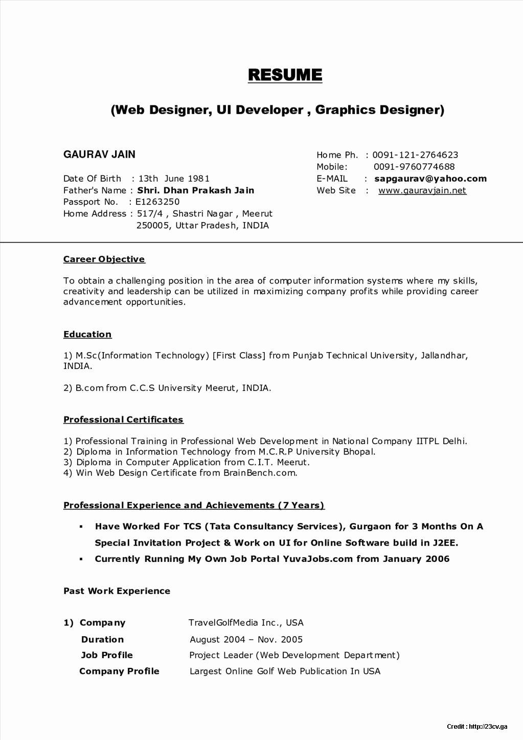 Resume Builder Line Free India Resume Resume
