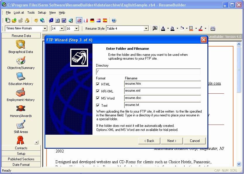 Resume Builder software Best Resume Gallery