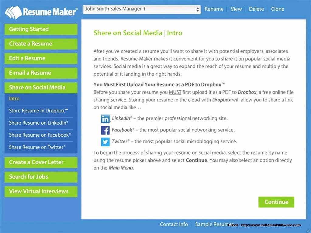 Resume Builder software Free Download Windows 10 Resume