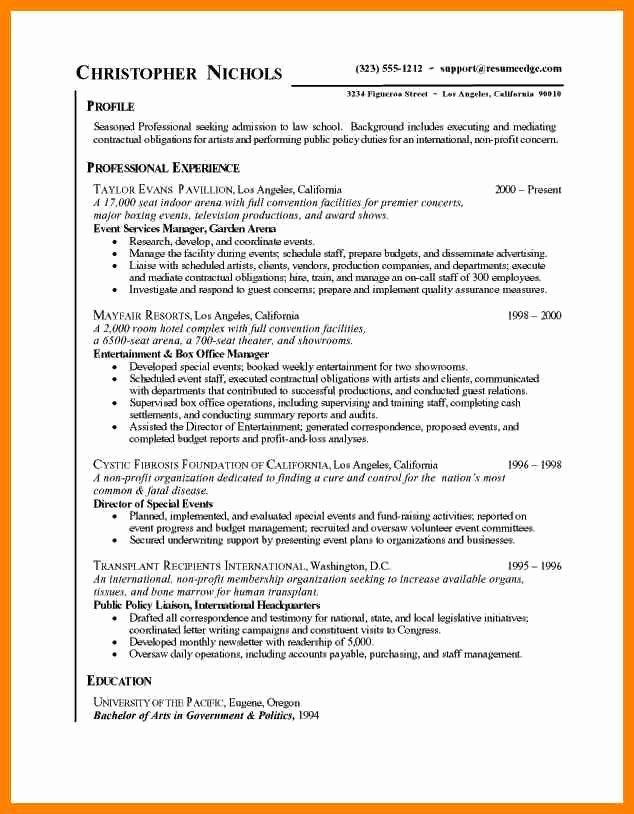 Resume Bullet Points