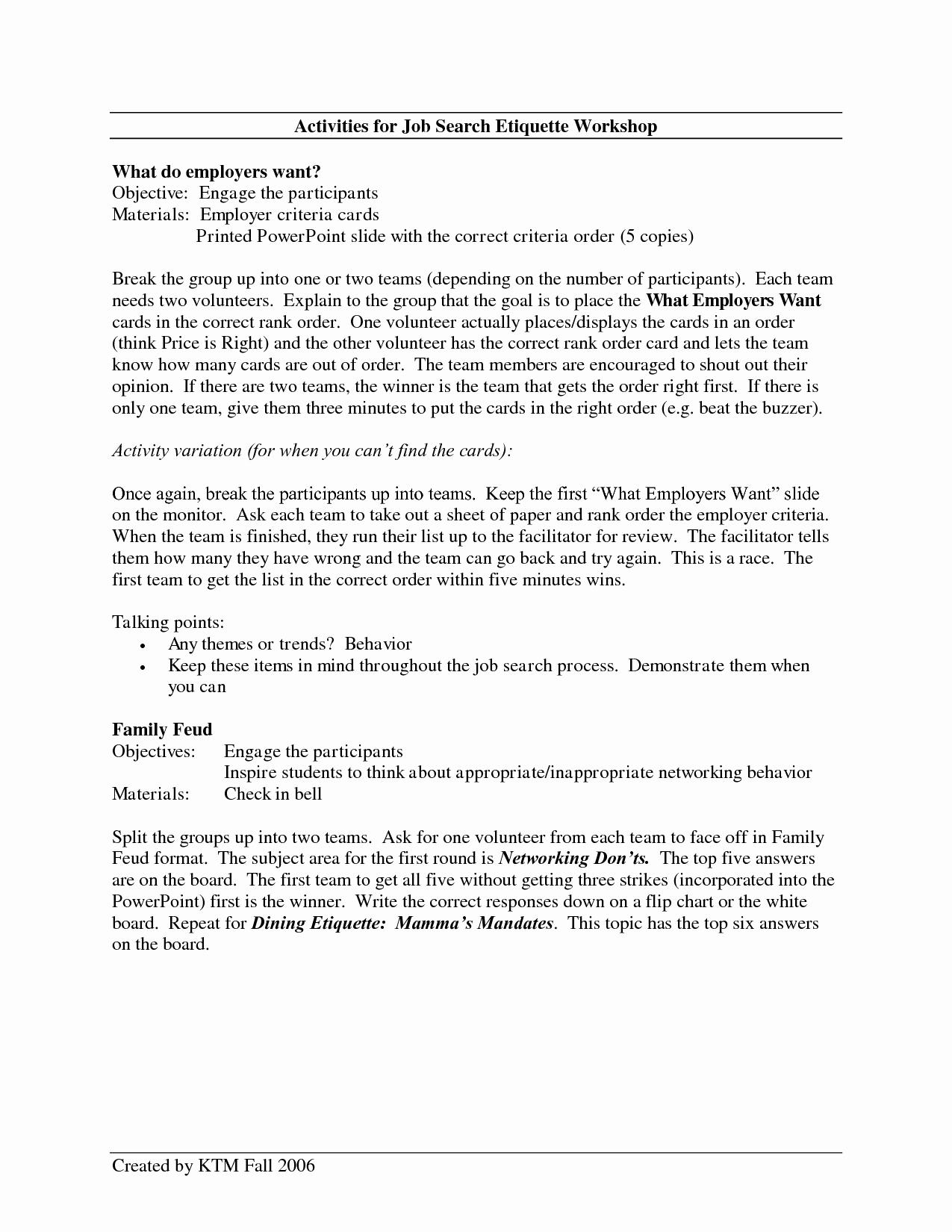 resume cover letter for job fair
