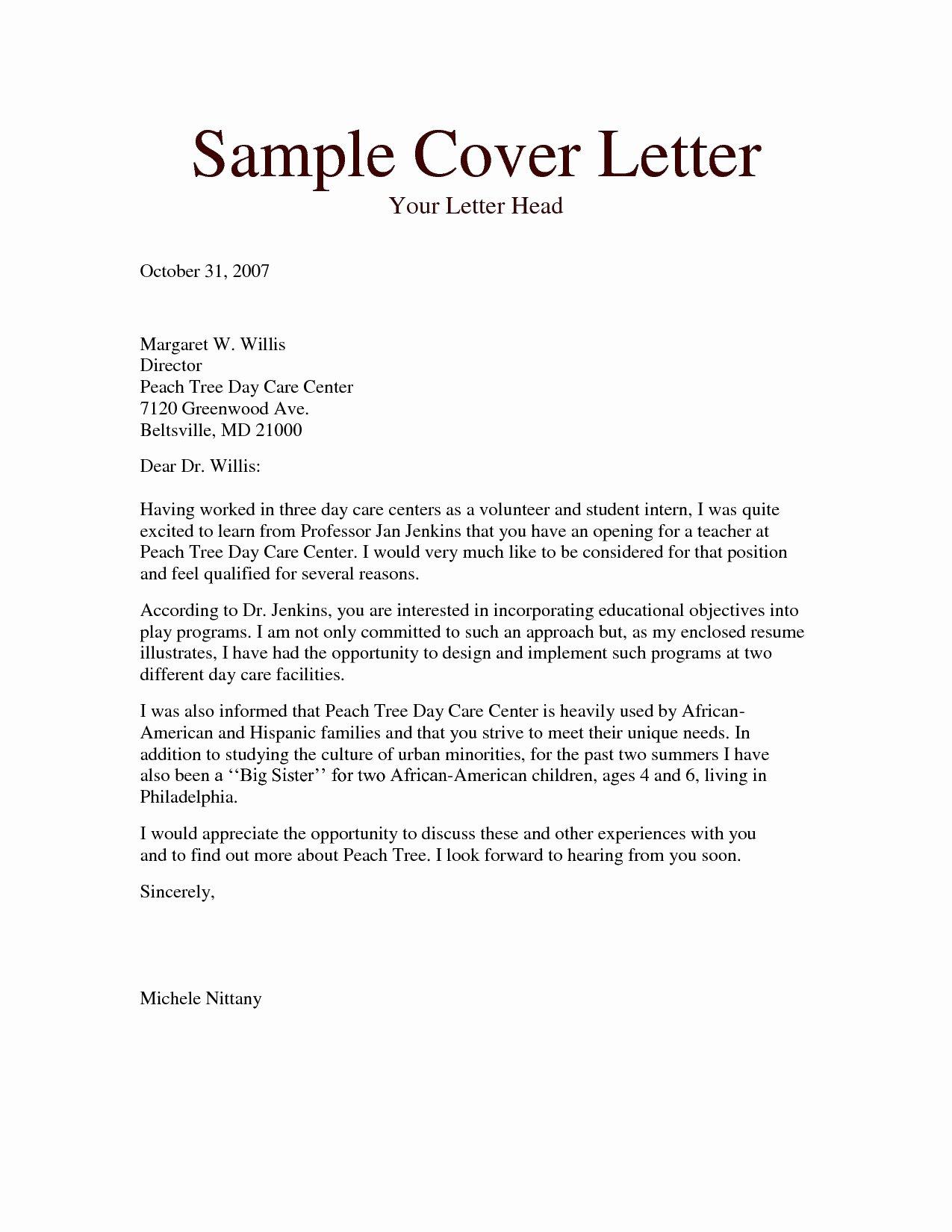 Resume Cover Letter Teacher Aide Sidemcicek