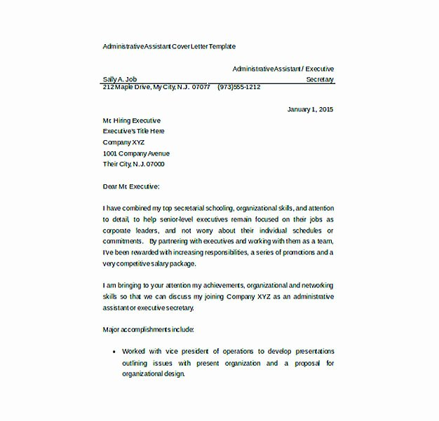 Resume Cover Letter Templates to Secure Job Application