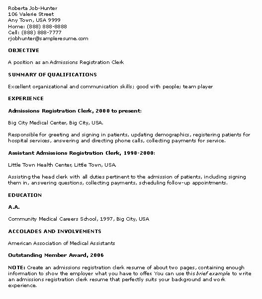 Resume Examples for High School Students with No