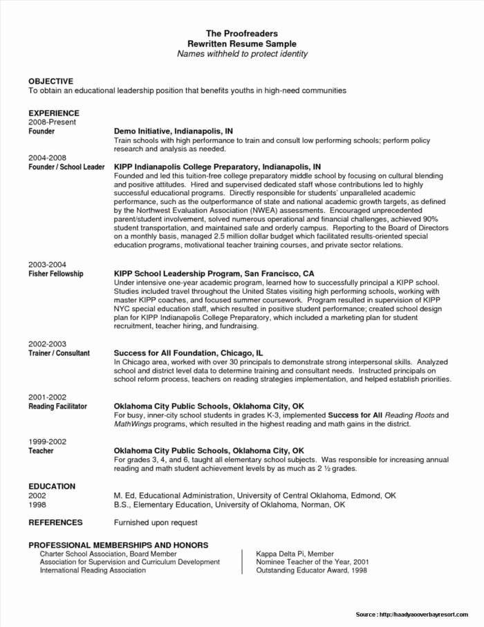 Resume Examples for Retail Management Positions Resume