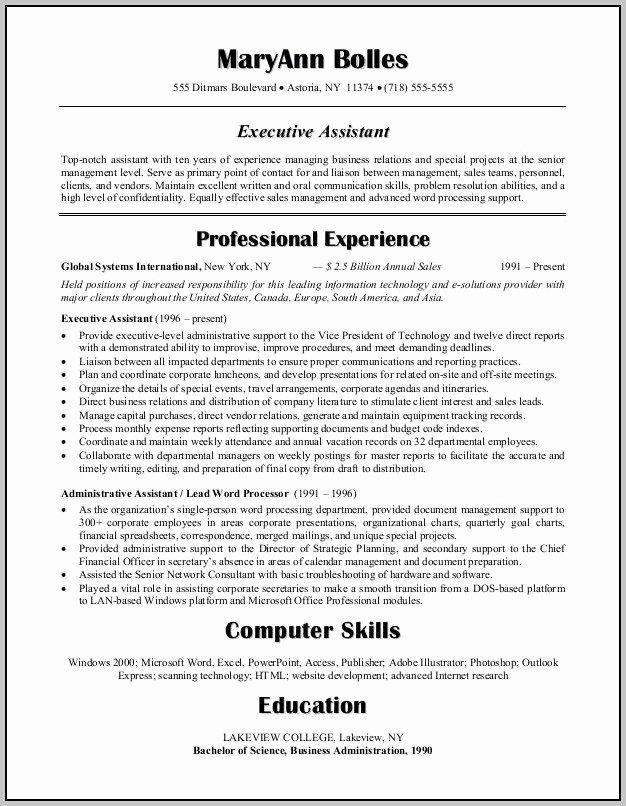 Resume Examples Medical Administrative assistant Sample