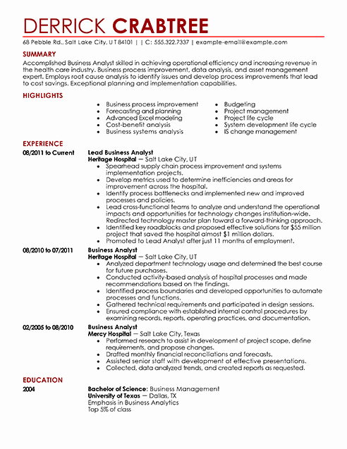 Resume Examples Resume Cv