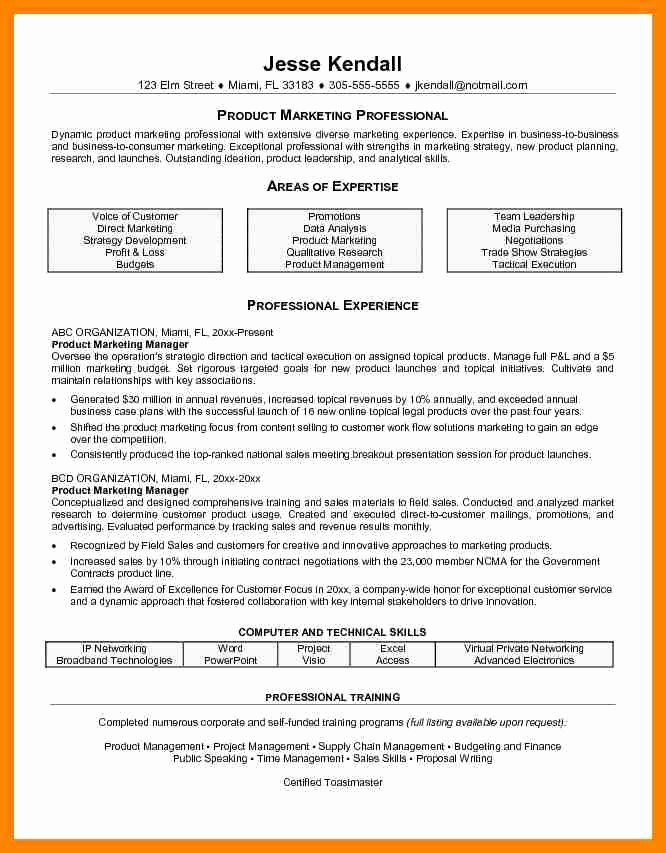 Resume Expertise Examples Idealstalist