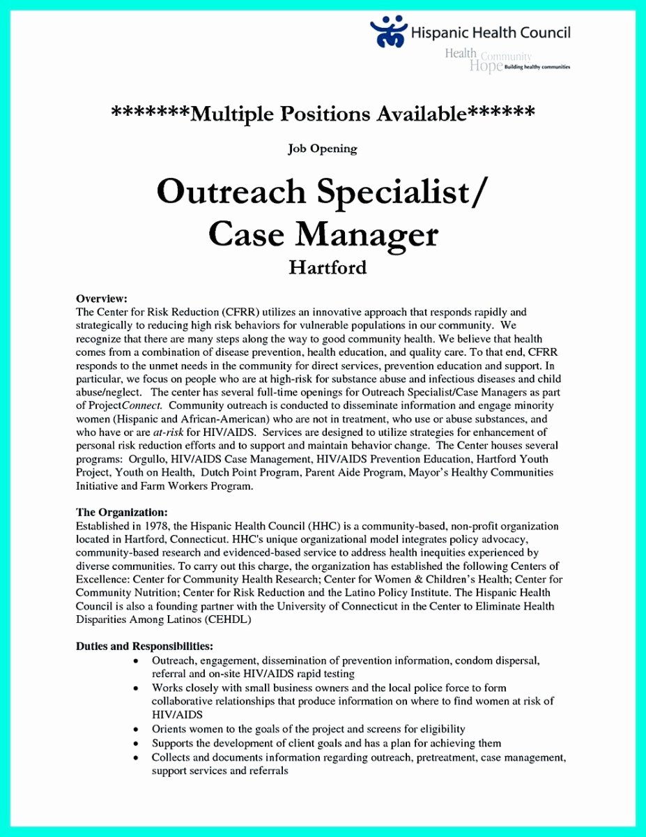 Resume for Case Manager Cover Letter Samples Cover
