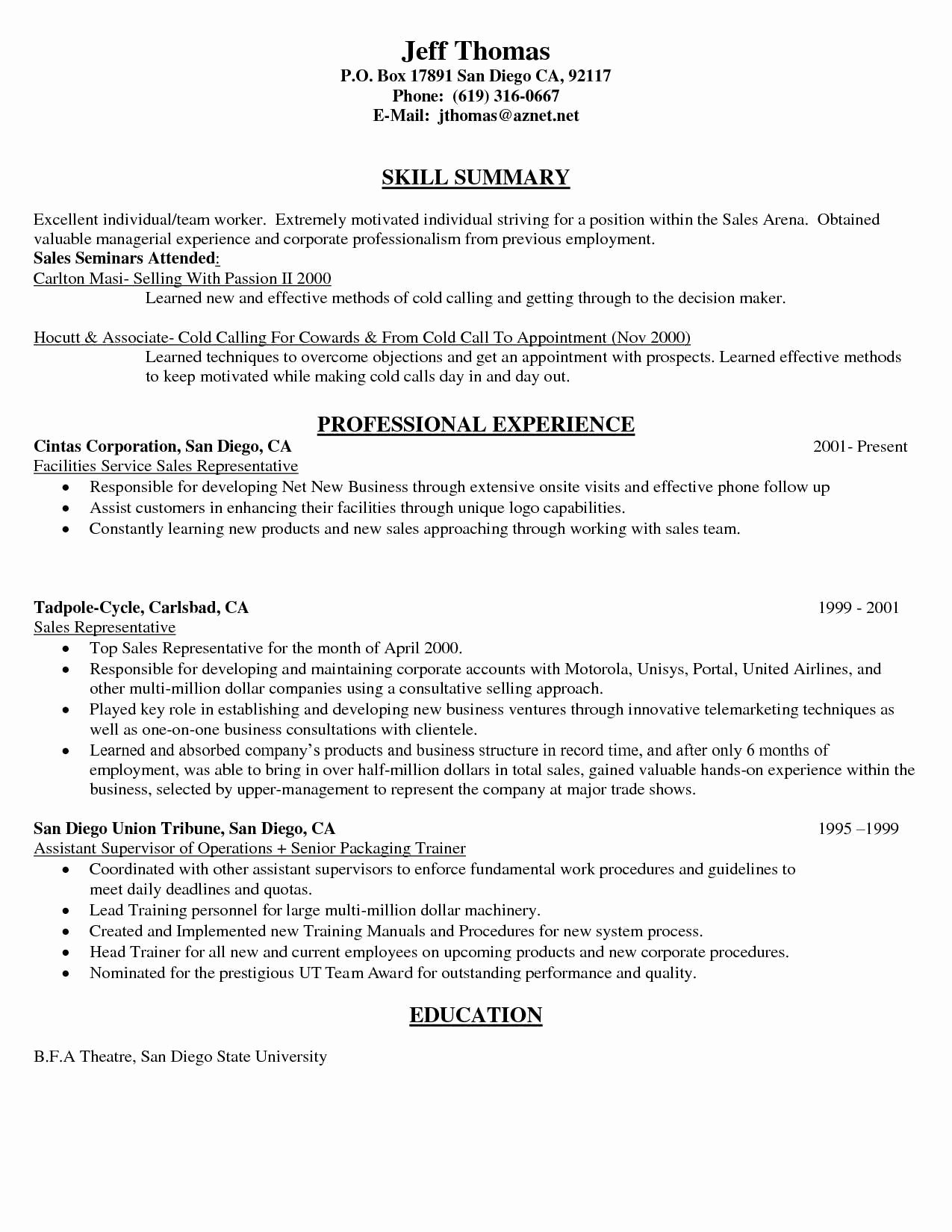 Resume for Cell Phone Sales Representative Resume Ideas