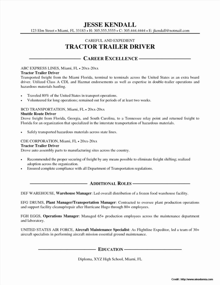 Resume for Driving Job Resume Resume Examples Bqax7n6gjb