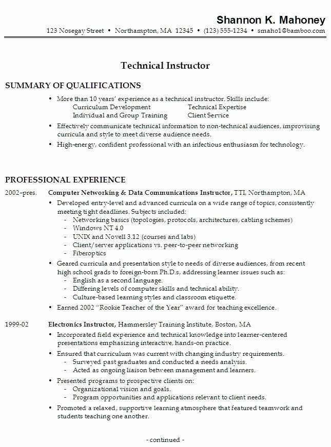 Resume for High School Student with No Work Experience Job