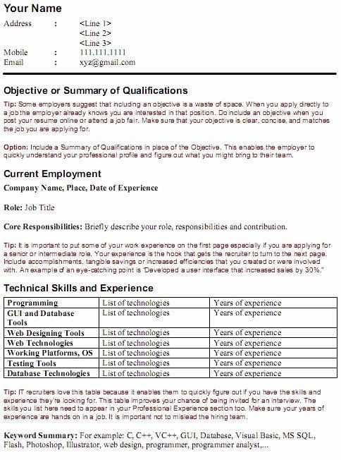 Resume Keywords Skills Best Resume Gallery
