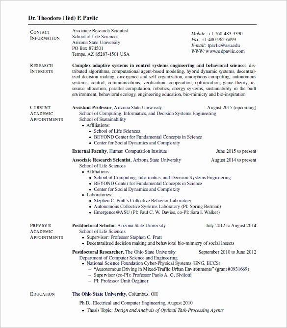 Resume Latex Templates Best Resume Gallery