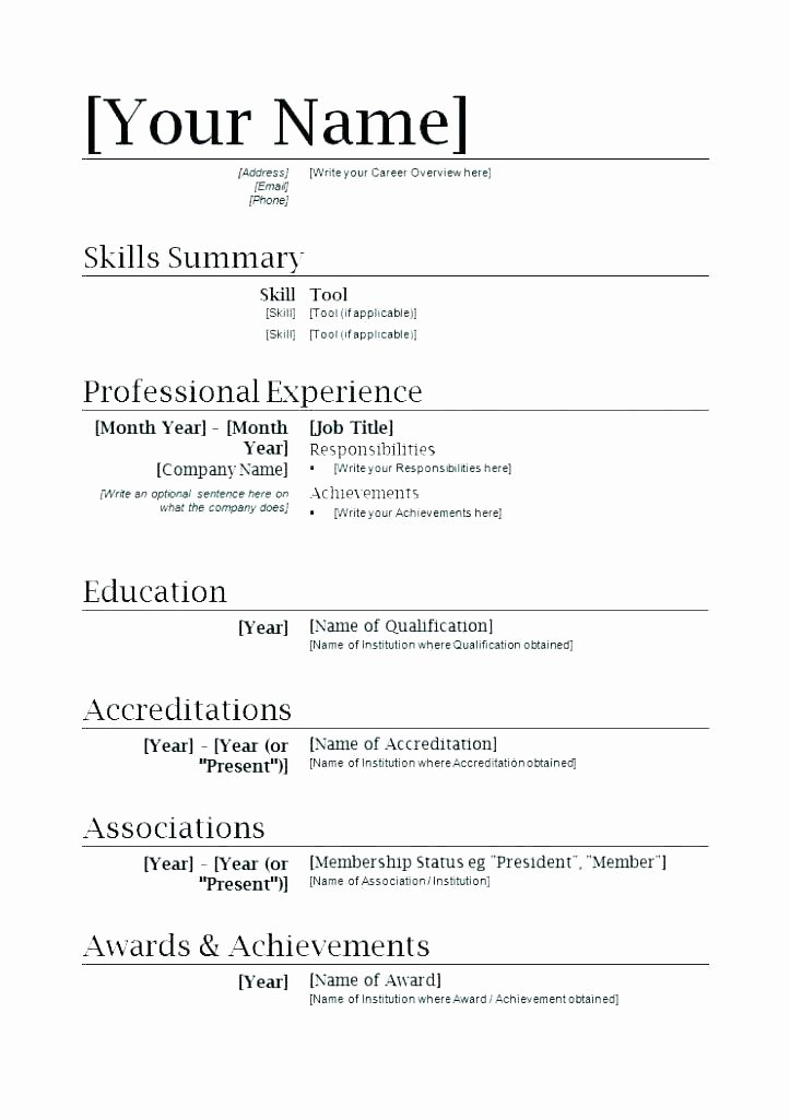 Resume Layout Wordpad Guide How to Find Templates In