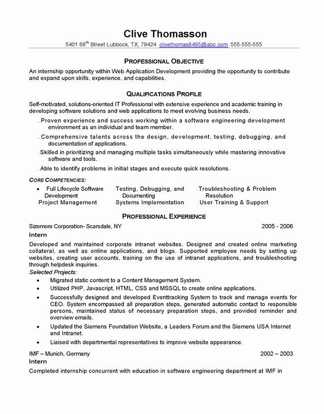 Resume Makeover Junior Web Developer Resume