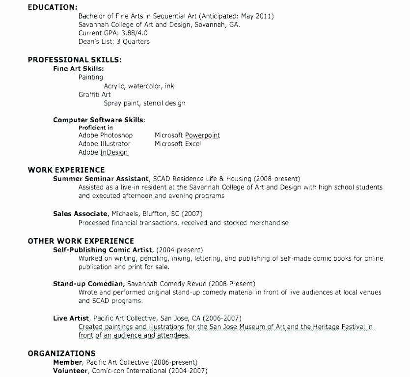 Resume Maker for Highschool Students Resume Maker for