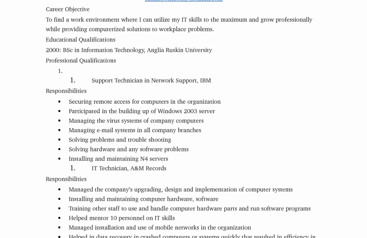 Resume Maker for Mac Download
