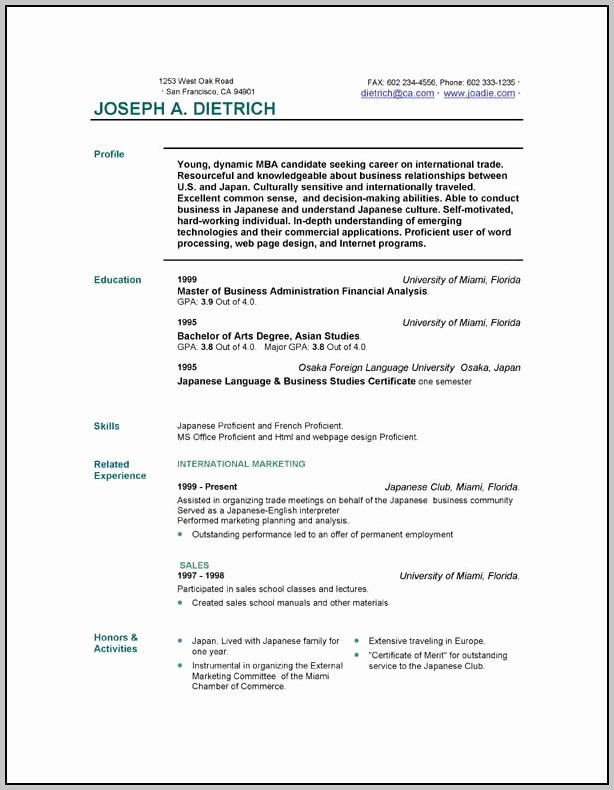 Resume Maker Free Download Resume Resume Examples