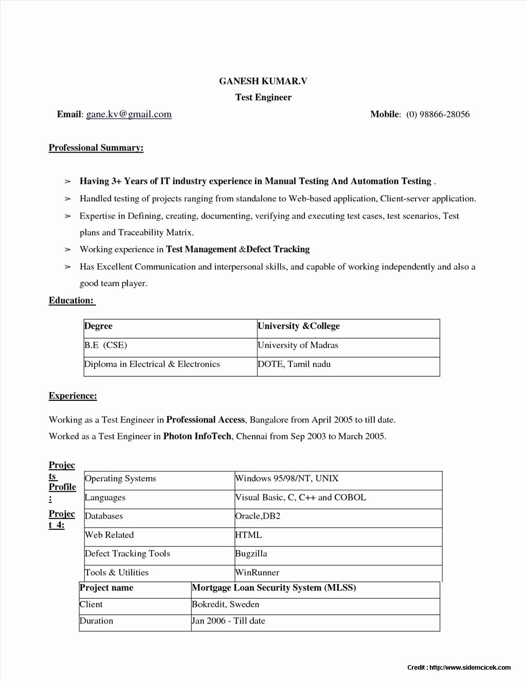 Resume Maker Free Download Windows 7 Resume Resume