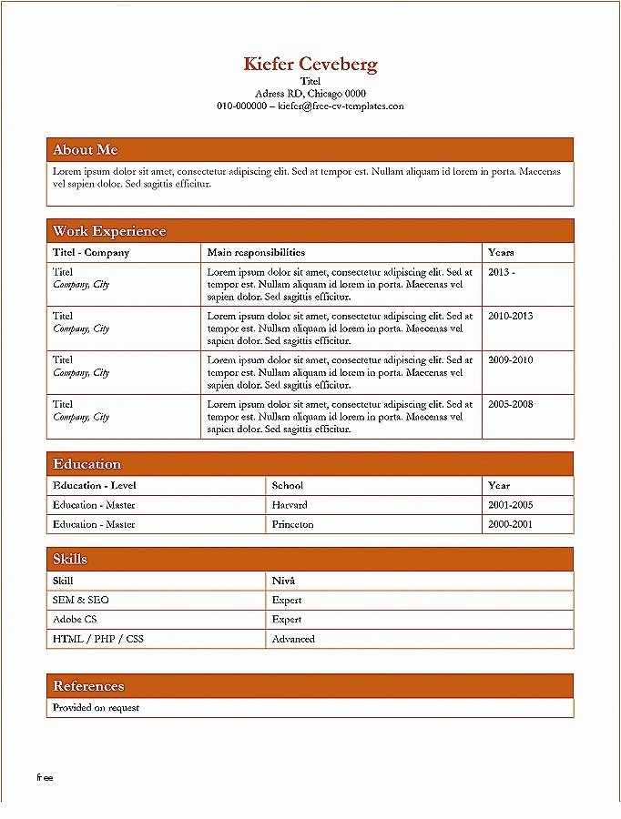 Resume Microsoft Word Free Download Resume Awesome Does