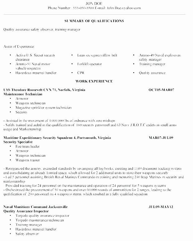 Resume Military to Civilian – Llunfo