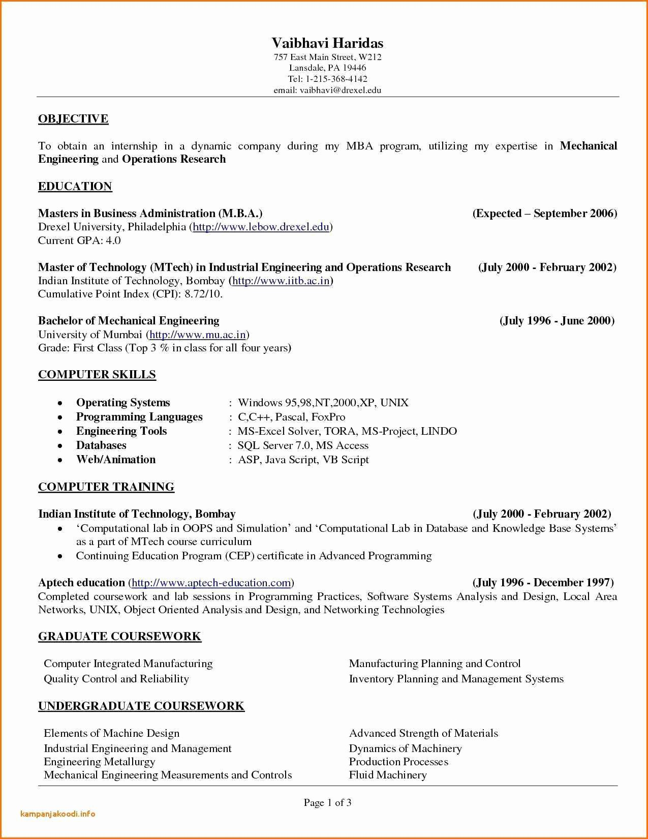 Resume Mission Statement Resume Mission Statement Examples