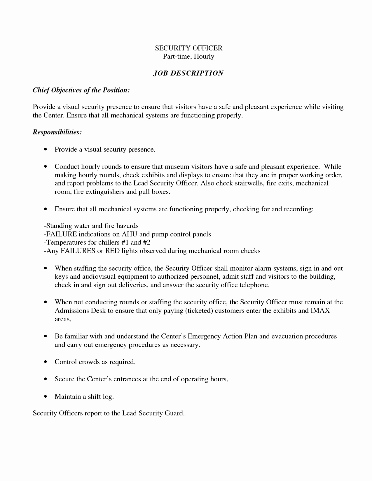 Resume Objective Examples for A Part Time Job Sidemcicek
