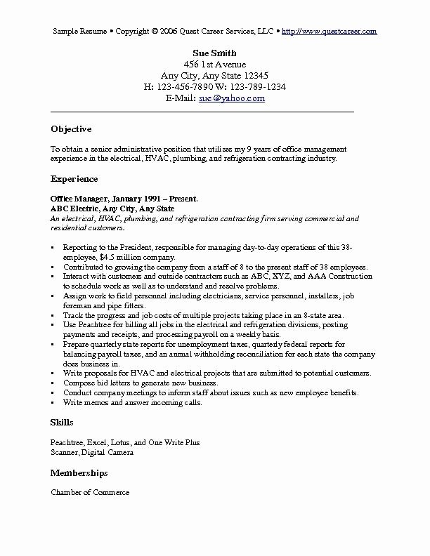 Resume Objective Examples For Students Best Criminal Justice