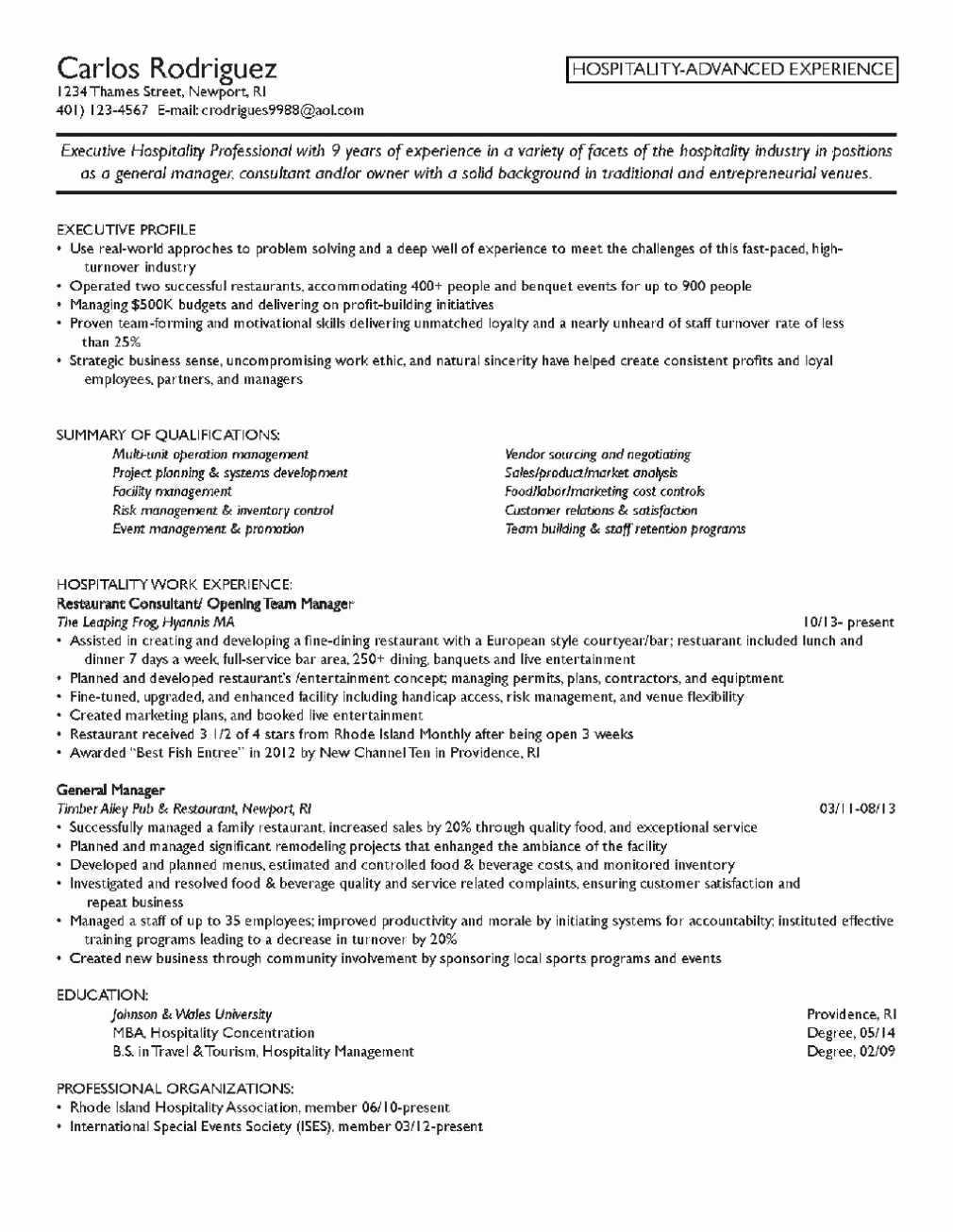 Resume Objective for Mba Admission – Perfect Resume format