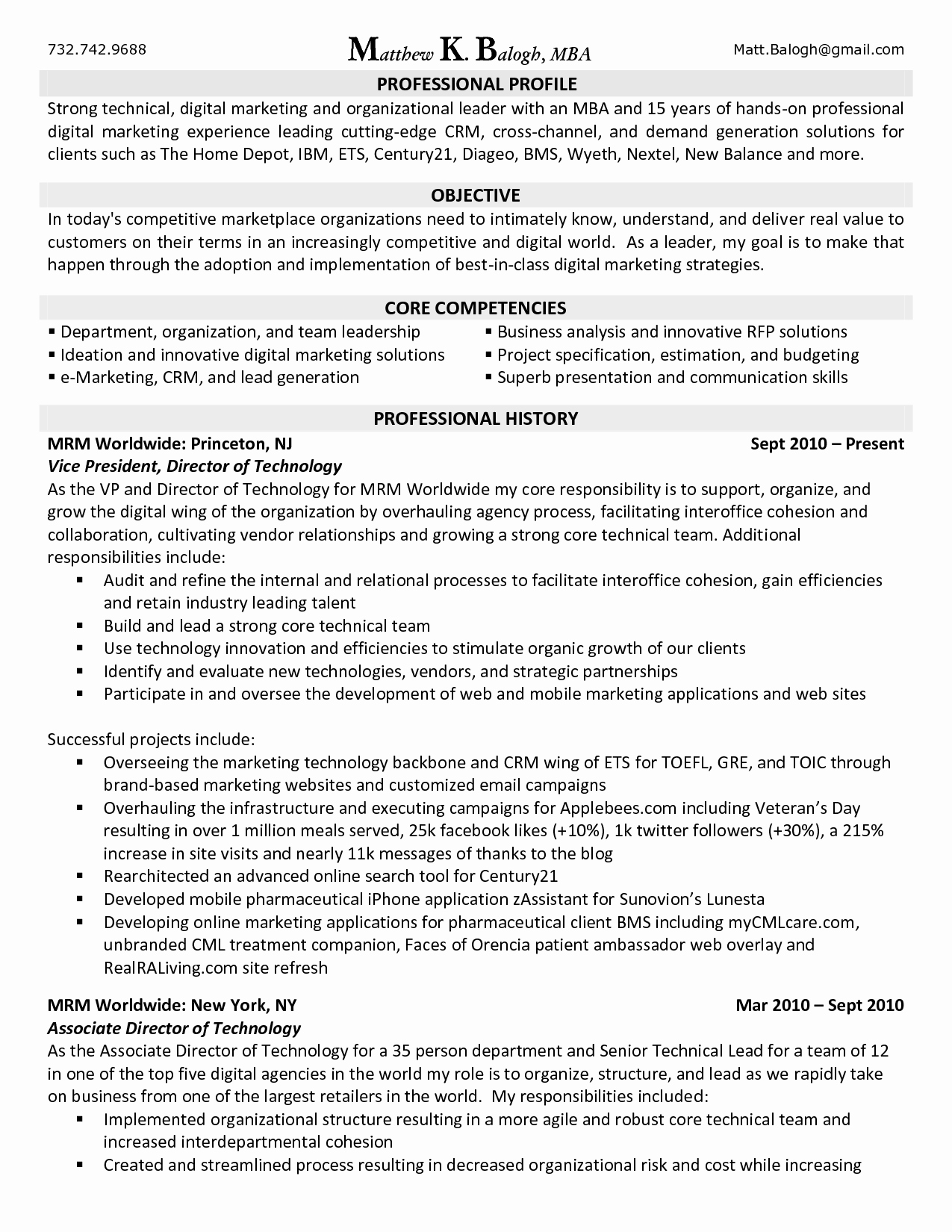Resume Objective Marketing Cover Letter Samples Cover