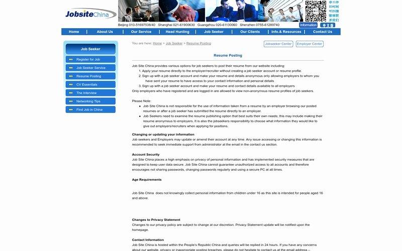 Resume Posting Website Best Resume Collection