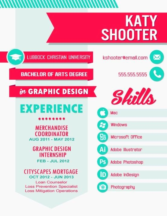 Resume Resume Design & Layouts Pinterest