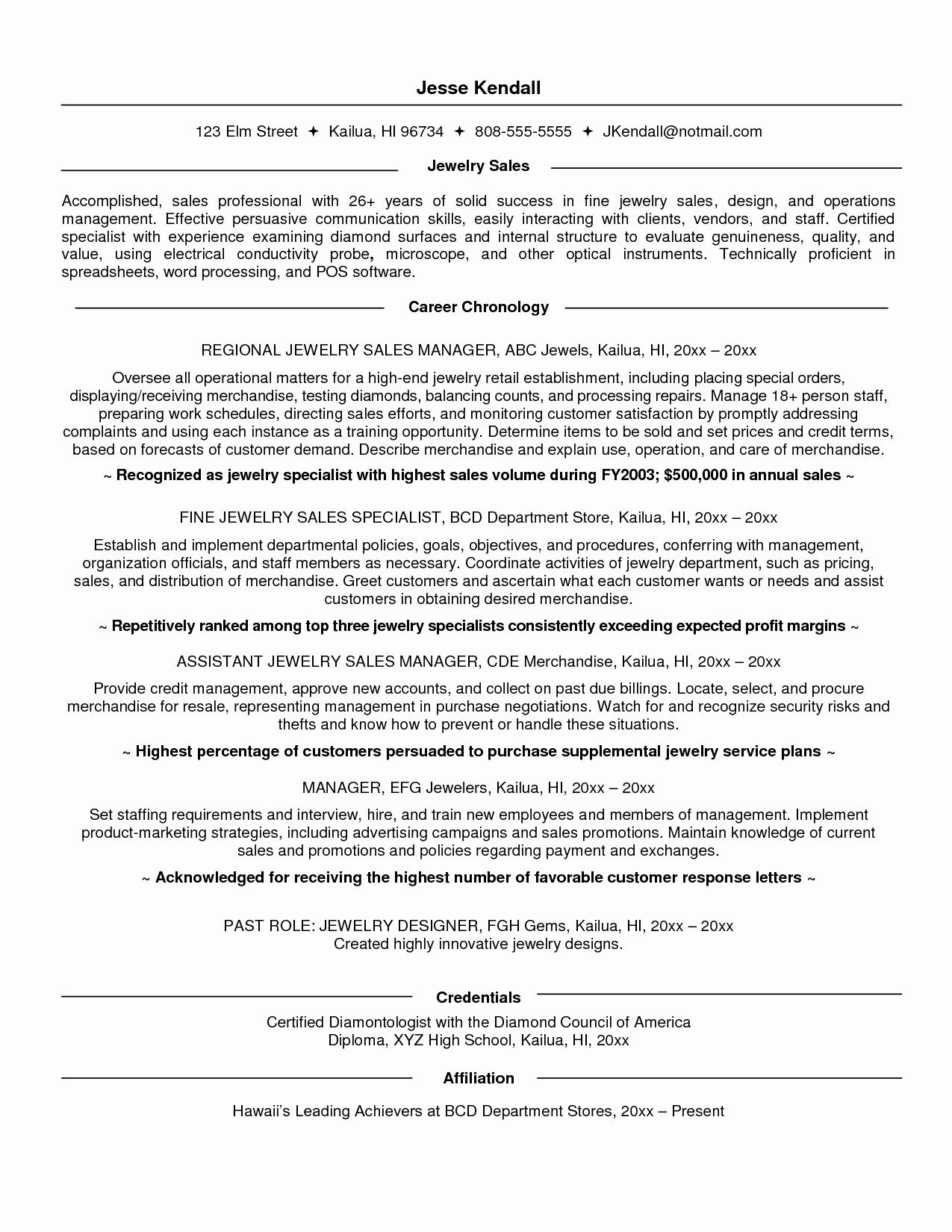 Resume Sales associate Job Description Resume Ideas