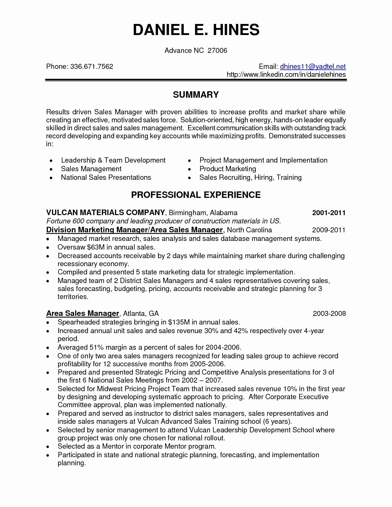 Resume Sales Skills Resume Ideas