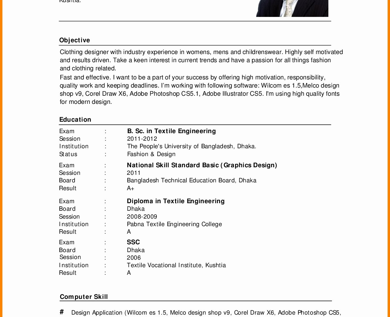 Resume Sample Applying Job Example for Work Template