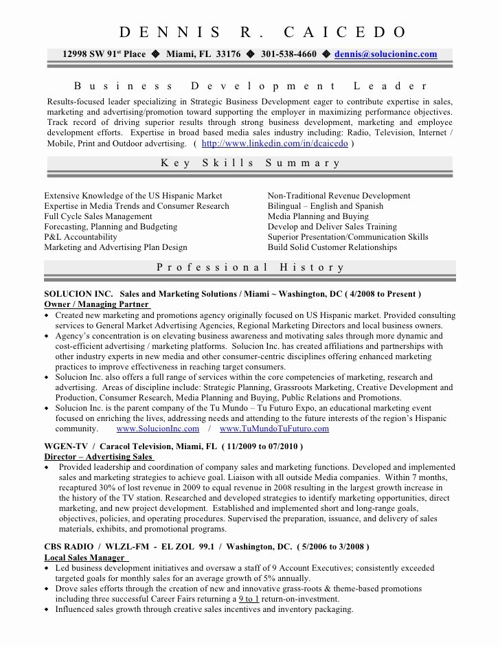 Resume Sample former Business Owner Best Custom Paper