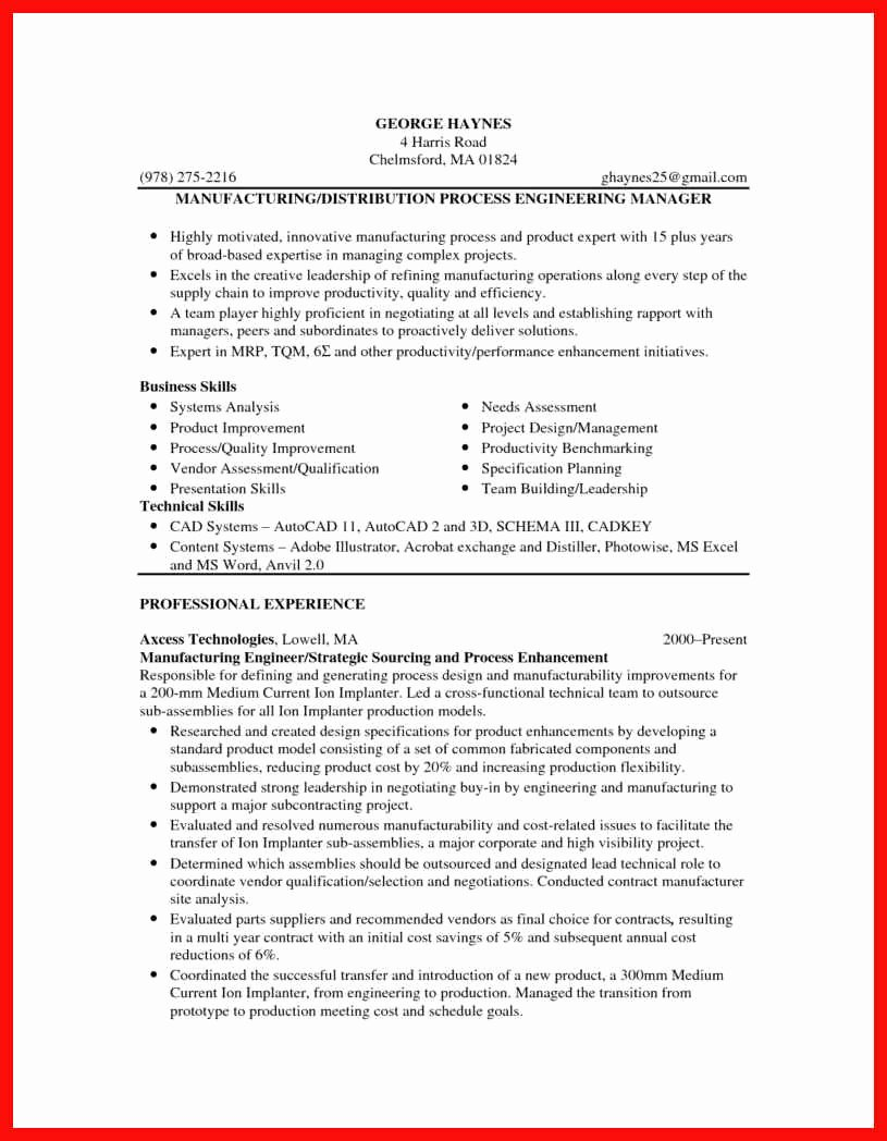 Resume Sample Pdf format
