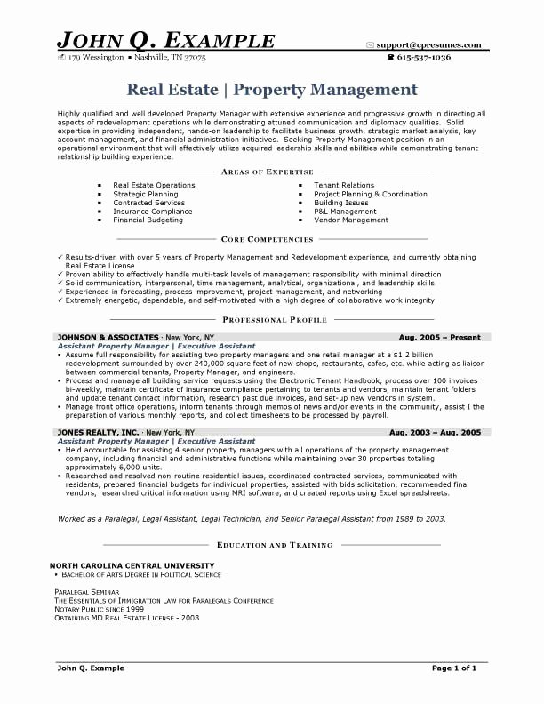 Related Posts For Regional Property Manager Resume Samples Mercial