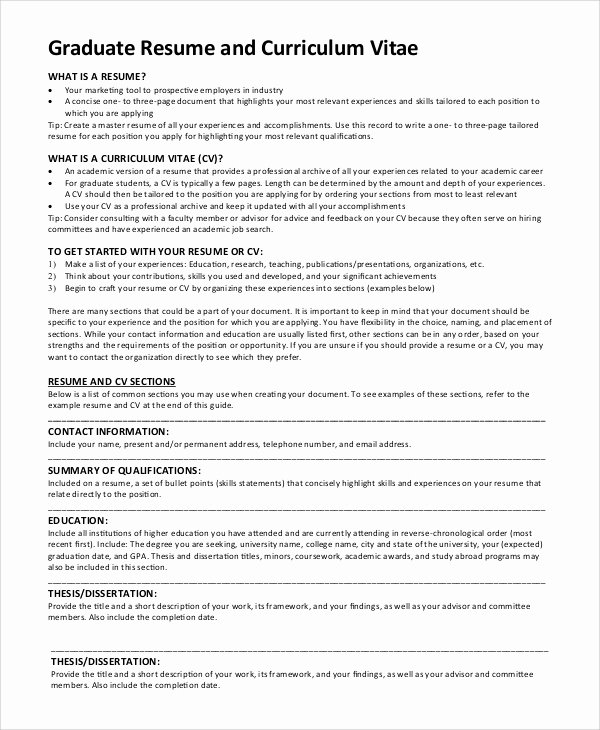 Resume Samples Graduate School Act Writing Test the